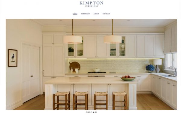 Kimpton Interiors Boutique Web Design