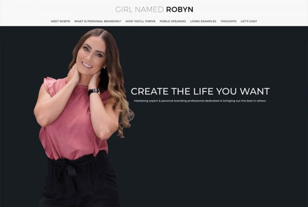 Robyn Abouchedid Blogger Website Design