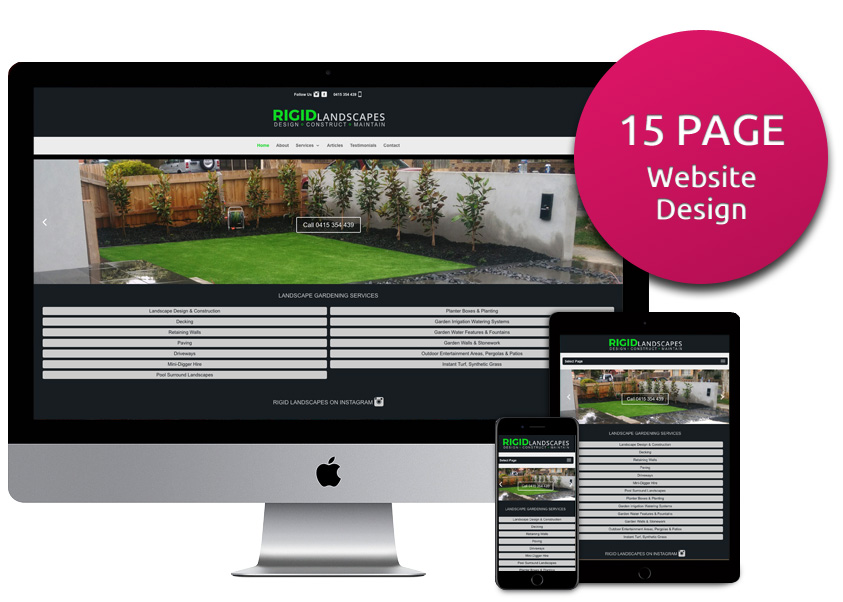15 Page Website Design Package