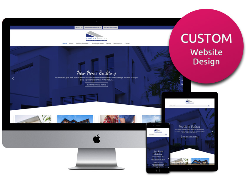 Custom Website Design Package