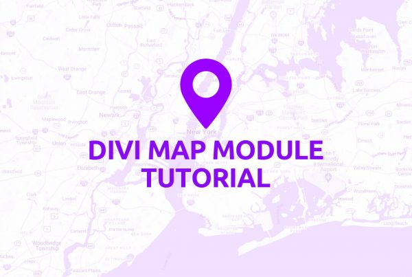 Divi Map Module Tutorial