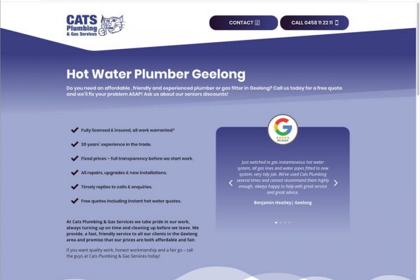 Hot Water Plumber Geelong