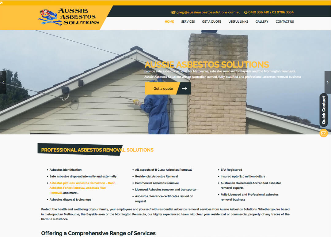 Aussie Asbestos Solutions - Asbestos Removal Experts