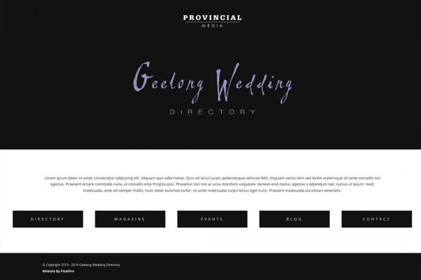 Geelong Wedding Directory