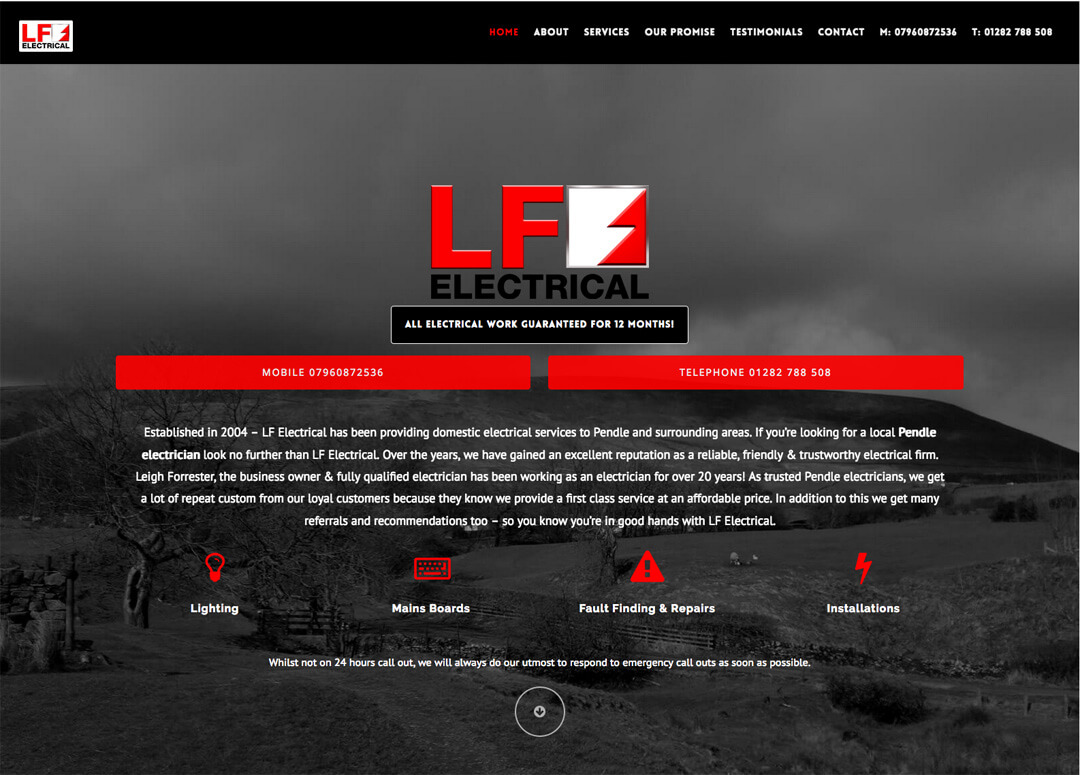 LF Electrical - The only choice