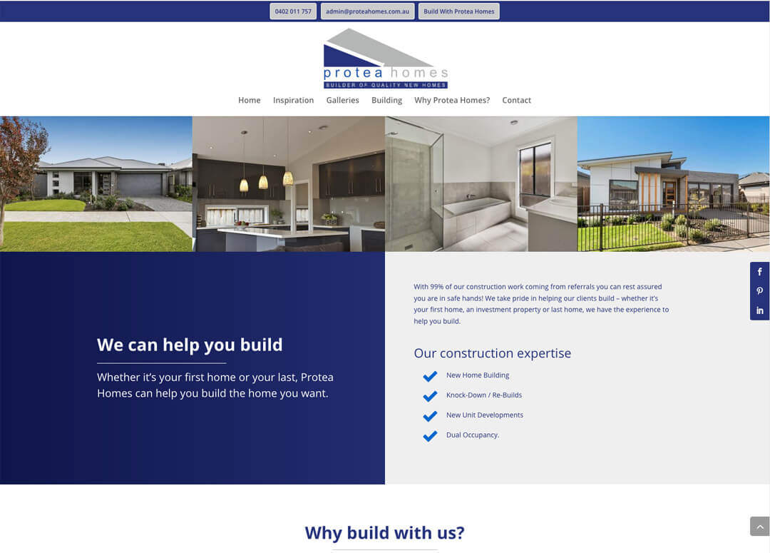 Protea Homes - New Home Builders
