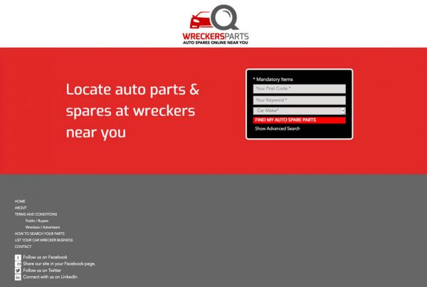 Wreckers Parts - Find auto paryts and spares near you